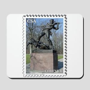 Mississippi Monument - Gettysburg Mousepad