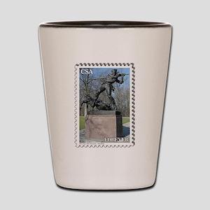 Mississippi Monument - Gettysburg Shot Glass