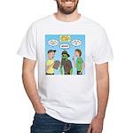 Zombie Scout Menu Planning White T-Shirt