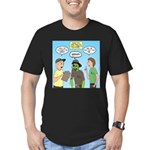 Zombie Scout Menu Plan Men's Fitted T-Shirt (dark)