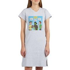 Zombie Scout Menu Planning Women's Nightshirt