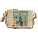 Zombie Scout Menu Planning Messenger Bag