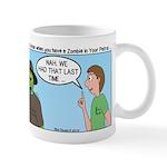Zombie Scout Menu Planning Mug