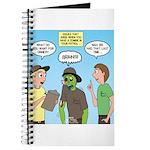 Zombie Scout Menu Planning Journal