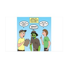Zombie Scout Menu Planning Wall Decal