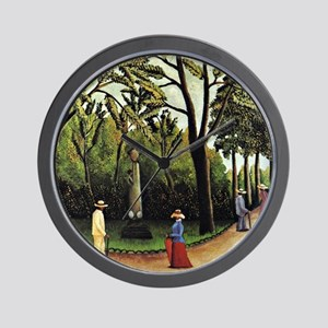 Henri Rousseau: Monument to Chopin  Wall Clock