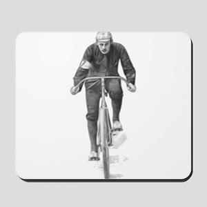 Vintage Cyclist Mousepad