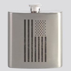 Distressed American Flag Flask