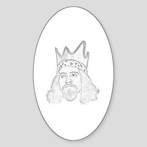King Cono Sticker (Oval)