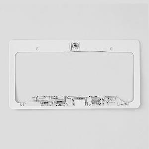 Airplane Instrument Panel Ske License Plate Holder