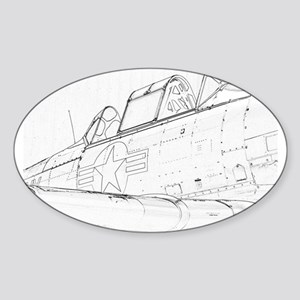 Aviation Sketch Sticker