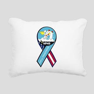vp45_navy_patch Rectangular Canvas Pillow