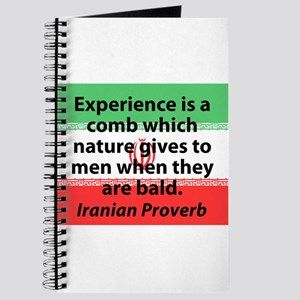 Experieance Is A Comb Journal