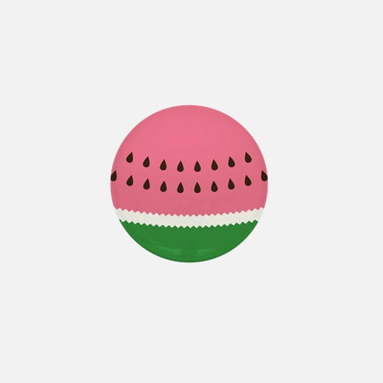 Abstract Watermelon Mini Button