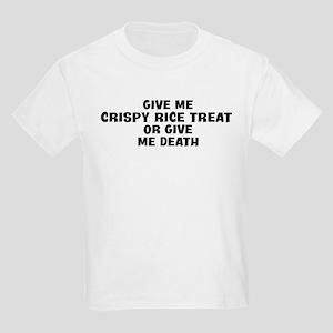 Give me Crispy Rice Treat Kids Light T-Shirt
