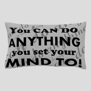 CAN DO Inspirational Saying Pillow Case