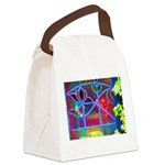 bright Canvas Lunch Bag