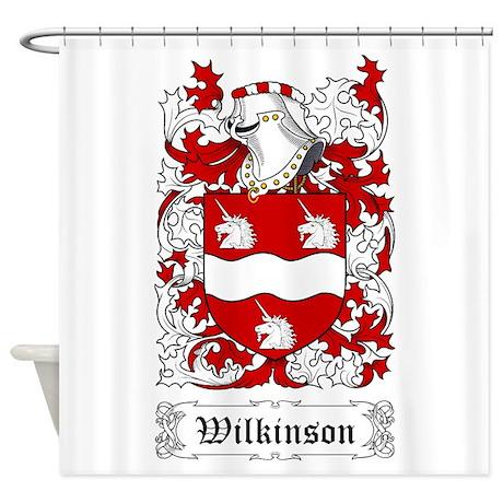 wilkinson shower curtain by coatofarms. Black Bedroom Furniture Sets. Home Design Ideas