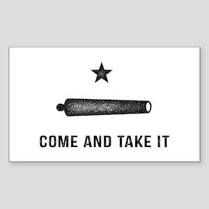 Gonzales Flag Sticker
