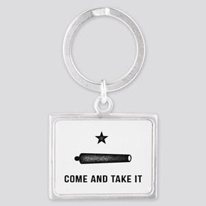 Gonzales Flag Keychains