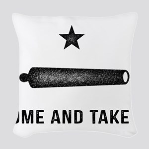 Gonzales Flag Woven Throw Pillow
