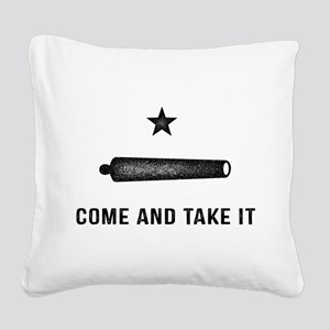 Gonzales Flag Square Canvas Pillow