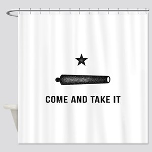Gonzales Flag Shower Curtain