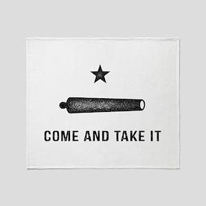 Gonzales Flag Throw Blanket