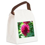 peony Canvas Lunch Bag
