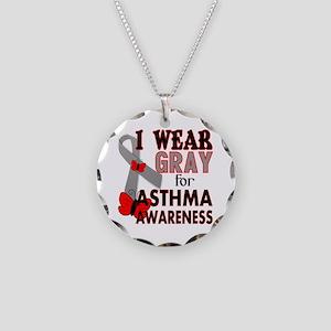 Asthma Awareness Necklace