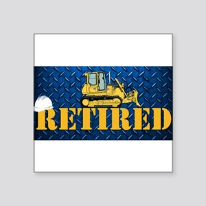 Retired Heavy Equipment Sticker