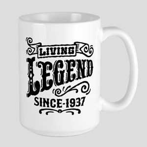 Living Legend Since 1937 Large Mug