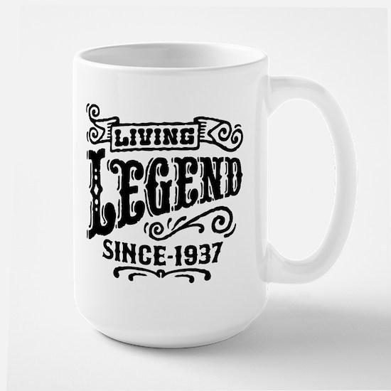 Living Legend Since 1937 Large Mug