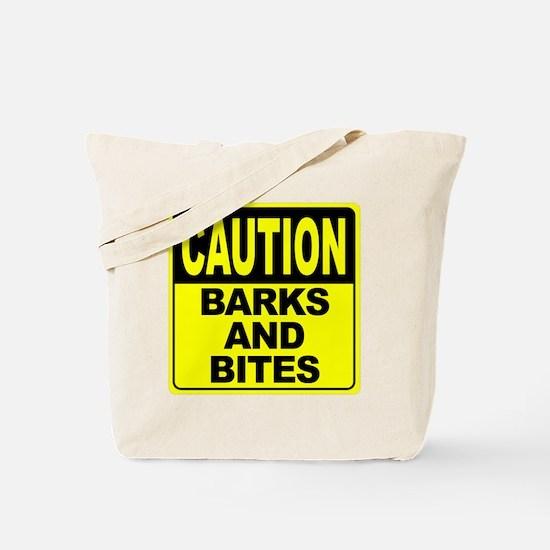 Barks and Bites Tote Bag