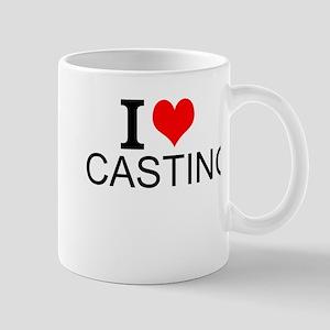 I Love Casting Mugs