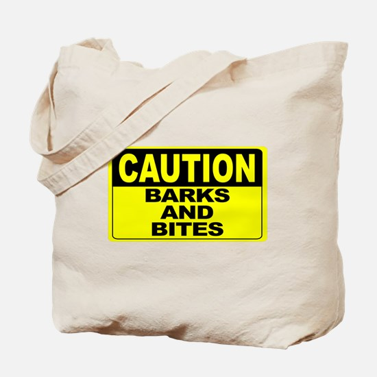 Barks and Bites Wide Tote Bag