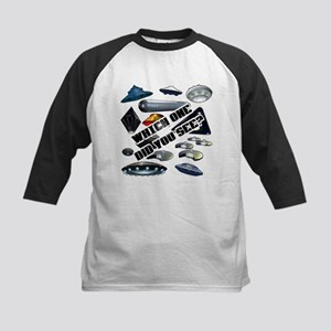 UFO'S...Which One Did You See? Kids Baseball Jerse