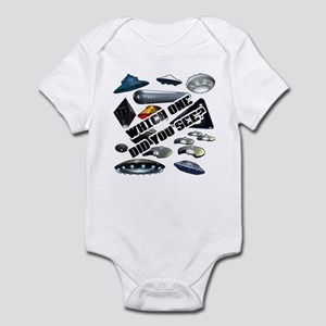 UFO'S...Which One Did You See? Infant Bodysuit