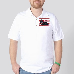 American Scottie Golf Shirt