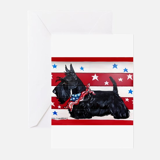 American Scottie Greeting Cards