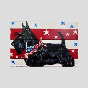 American Scottie Magnets