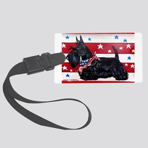 American Scottie Luggage Tag