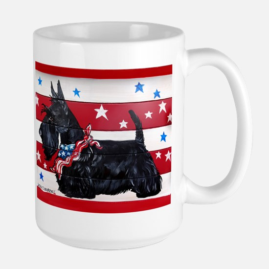 American Scottie Mugs