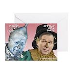 Cheney/Bush Oz Parody Cards (Pk of 10)
