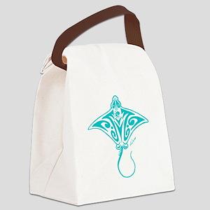 Hihimanu blue Canvas Lunch Bag