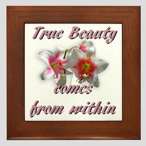 True Beauty Framed Tile
