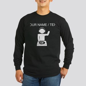 Custom Music DJ Long Sleeve T-Shirt