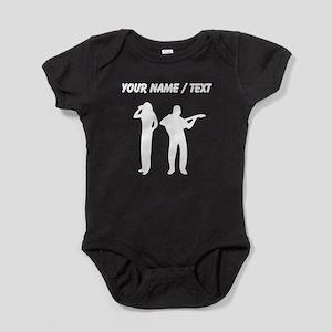 Custom Singer And Guitar Player Baby Bodysuit