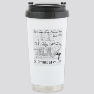 Saving Bones from Davey Jones II Travel Mug