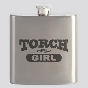 Torch Girl Flask
